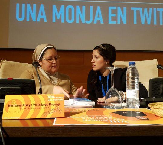 """Xiskya Valladares (la monja twittera): """"No tengan miedo de hacerse ciudadanos del mundo digital"""""""
